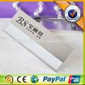 magnético de alta calidad de aluminio de aleación de metal nombre de la tarjeta deidentificación en el tiempo de entrega