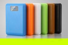high quality with led light dual usb luggage box power bank