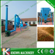 Factory supply the output range from 300kg/h to 5000 kg/h wood sawdust dryer