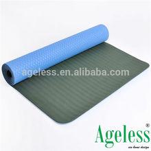 tpe yoga mat with yoga mat bag package