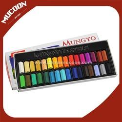 MUNGYO high quality hair dye chalk with 32 colors hair chalk MPS-32