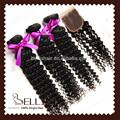 """Mannequin heads long cheveux avec dentelle fermeture 24 """" pas cher 100% brésilienne coudre de cheveux humains weave 4 pcs/lote vague profonde livraison gratuite"""