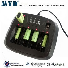 TUV approved M3298 universal 1.2v nimh nicd battery charger alkaline battery charger