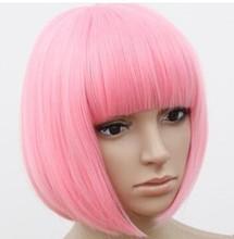 colorful wig cos wig