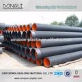 isolation tuyau en polyéthylène à double paroi en plastique tuyau de vidange