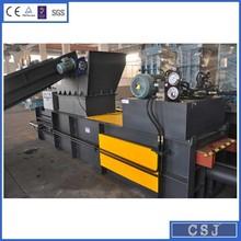 New technology paper scrap baler hydraulic plastic baler compactor machine
