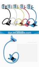 360 rotation Flexible mobile phone holders, Desktop Lazy Bracket,smartphone bed holder