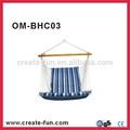 Blue corda pendurada cadeira assento do balanço do pátio de acampamento max. 265 lbs