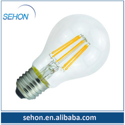 distributors canada e26 120v 2400K ul a19 filament led bulb/energy star a19 led light bulb