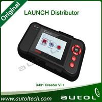 origina Launch Creader 7+ / Creader VII+ OBD II car scanner --hot selling porduct!