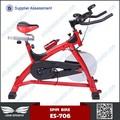 Volante da bicicleta de exercício do ciclo de spin-bike com computador