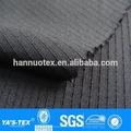 şerit jakarlı dokuma kumaş polyester spandex streç kumaş ceket Activewear gömlek