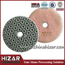 Grit 50 ceramic floor polishing pad,ceramic bond grinding diamonds pads