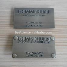 Custom Jeans Plate, Classic Metal Label For Handbag