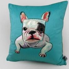hot sale cute dog image new design children sleeping pillow