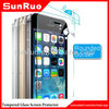9H anti-oil tempered glass screen protector for apple iphone 5s,manufacture for apple iphone 5s screen protective film