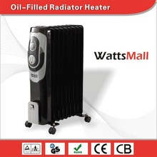 Bedroom, Living Room Used 110v/ 240v Oil Filled Radiator for Baby