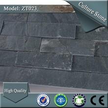 ZT023 grey color wall decorative ledge natural stone cladding columns