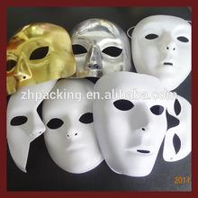 halloween party plastic mask,carnival mask,pvc plastic mask halloween face mask Masquerade Halloween Karneval Gold mask