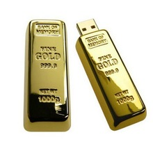 high quality best gift wholesale buy 64gb golden usb flash drive metal