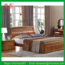 Promotion new furniture product China supplier carved wood bed casters (XFW-618)
