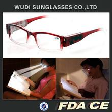 Electronic new led light reading glasses