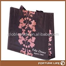factory price Santa laminated pp woven bag for christmas gift bag
