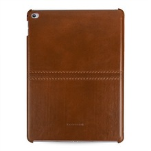 OEM Premium Leather Case for Apple iPad Air 2 -- Caen (Emboss: Vintage BrownPN13)