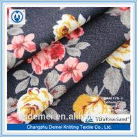 2014 Fashional Polyester Spandex Jacquard Elastic Webbiing Double Jacquard Knit Fabric Wholesale