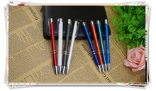 TM-02 2014 Promotional Gift Metal pen Stamp Seal Ball Pen With Client Personal Name,,Plated & Baking varnish pen