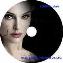 A4 High Glossy CD/DVD Label Sticker