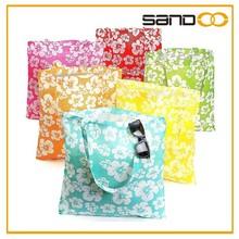 Large Hibiscus Hawaiian Luau Pool Party Tote Bags, Trendy Beach Bags