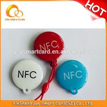 round shape 13.56MHz Passive RFID Tag Sticker
