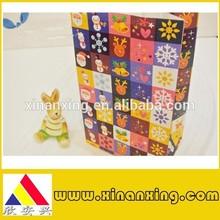 fashion kraft paper bag for Christmas, gift paper bag