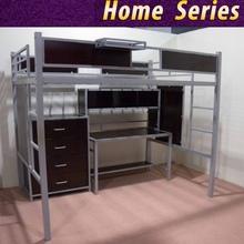 Twin/full school/university loft bunk bed with desk
