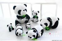 New Designs Custom Panda Family Plush Toy