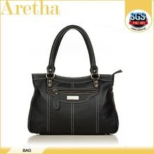 hot sale elegant design women's bag genuine leather briefcase