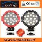 CE ROSH HOT SALE 51W LED Work Light/LED Driving light/work light led