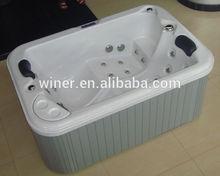 outdoor spa hottub/infrared sauna bathtub/family used bathtub tub