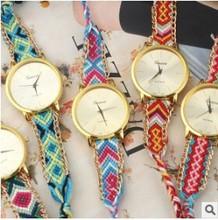 Milan Fashion Waving Bracelet Watch Lady