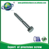 China made carbon steel m8 screw dimensions