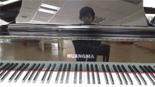 Custom design line engraved accessories digital piano three pedal iron material