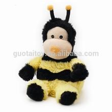 Cozy custom stuffed animal plush bee toys