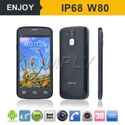 "4.5"" 3G WCDMA WIFI GPS Dual Camera Android Senior Mobile Phone"