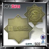 New fashion metal medal of chocolate