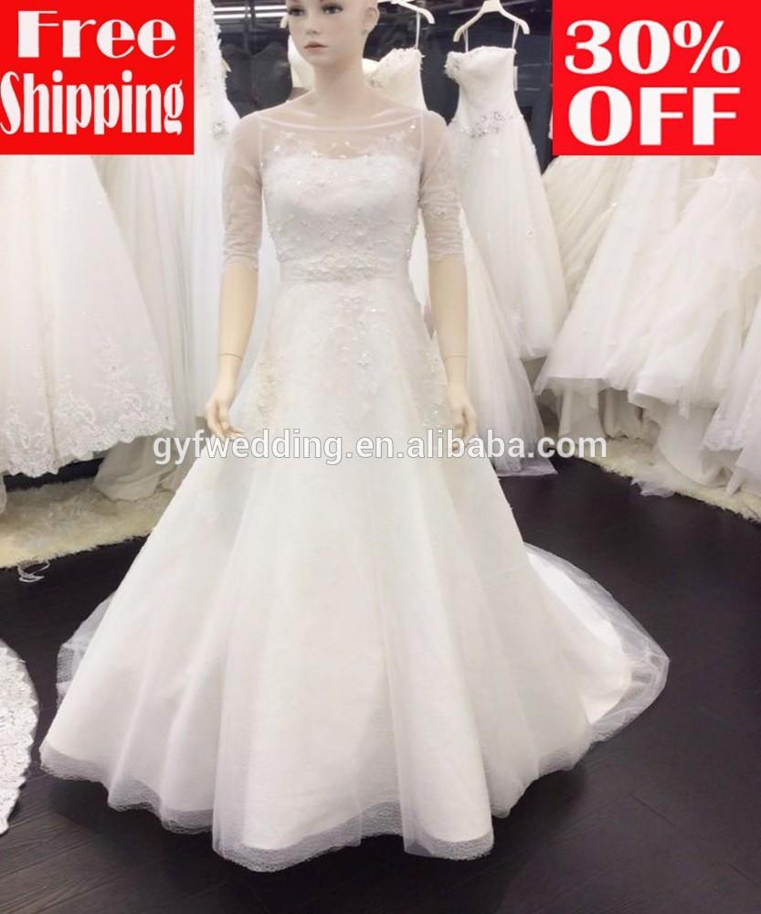 Hochzeitskleid in Frankreich