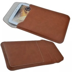 Wholesale leather universal tablet sleeve, for ipad sleeve bag