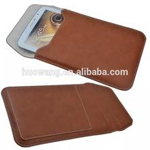 Wholesale leather universal tablet sleeve, for ipad sleeve bag