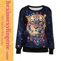 Super Deal Fat Women Xl plain black hooded sweatshirt