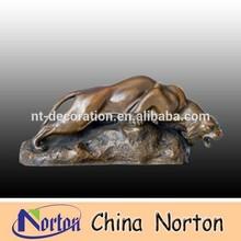 Small bronze lion sculptures NTBA-L037